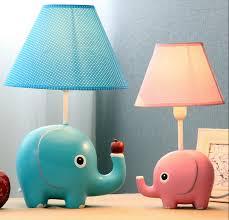 big size very cute elephant table lamp kid room lovely desk light