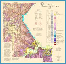 Kansas Counties Map Kgs Geologic Map Riley Large Size