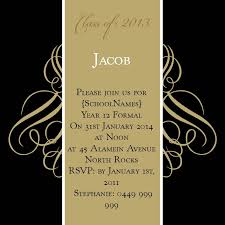 formal invitation black and gold swirls square w magnet in gold fusion invitation