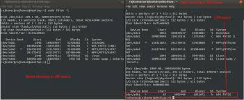 format as fat32 ubuntu how to mount unmount and format usb pen drive using terminal in