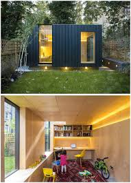 backyards beautiful clad in black timber this backyard guest