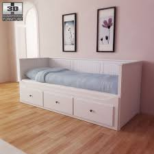 bed ikea ikea hemnes day bed 3d model hum3d