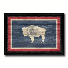Wildlife Home Decor by Wyoming State Home Decor Office Wall Art Decoration Bedroom