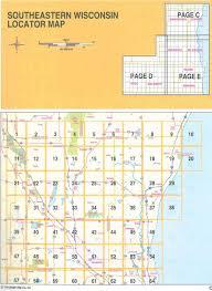 Milwaukee Zip Codes Map by Warren U0027s 8 County Milwaukee U0026 Southeastern Wisconsin Street Locator