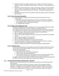 hardware design proposal request for proposal for learning management system