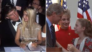awkward parallel lives of chelsea clinton and ivanka trump