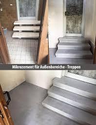 treppen im au enbereich treppen im außenbereich mit mikrozement mikrozement resina24