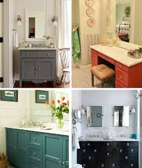 painted bathroom cabinets ideas painted bathroom vanities for a remodel painting the