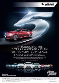 lexus thailand facebook 5 year unlimited mileage warranty for toyota u0026 lexus vehicles