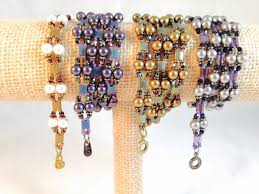 bracelet tutorials youtube images Pearly girly wrap bracelet jpg