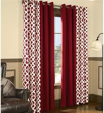 trellis grommet top curtains curtains plow hearth red grommet curtains