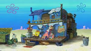 spongebob and patrick u0027s trash house encyclopedia spongebobia