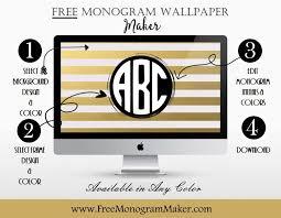 wallpaper for laptop maker free monogram wallpaper maker