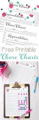 best 25 free printable chore charts ideas on pinterest chore