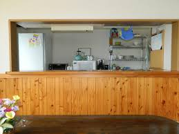modern japanese kitchen ideas adding drama to your cooking space modern japanese kitchen with wooden divider idea for rustic look