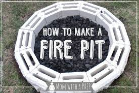 How To Make A Fire Pit In Your Backyard by Diy Backyard Fire Pit