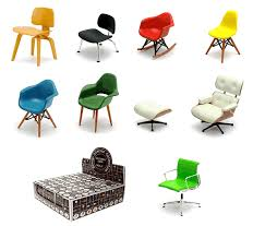 eames miniature chair collection until i can afford the real