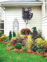 Backyard Flower Bed Ideas Landscape Design Flower Bed Large Size Of Garden Garden Plant