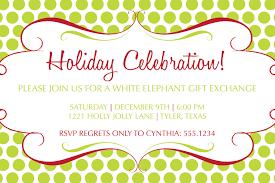 white elephant christmas party invitations oxsvitation com