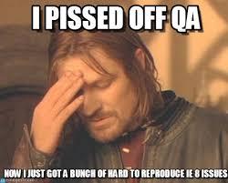 Pissed Off Meme - i pissed off qa frustrated boromir meme on memegen