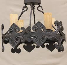 Iron Ceiling Light Lights Of Tuscany Forged Wrought Iron Browse By Style