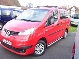 red nissan 2008 car picker red nissan nv200