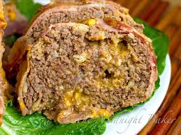 bacon cheeseburger meatloaf the midnight baker