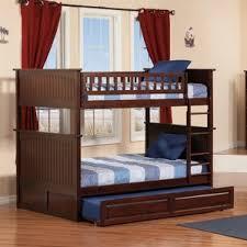Trundle Bunk  Loft Beds Youll Love Wayfair - Trundle bunk beds