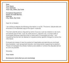 Dispute Letter For Experian credit dispute letter template experian letter format writing