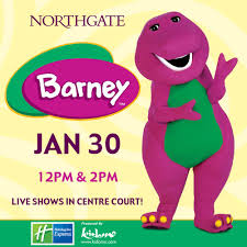 barney live shows northgate shopping centre