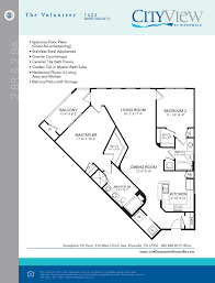 floor plans living downtown knoxville