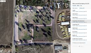 aerial maps monument colorado cemetery aerial map aces aerial