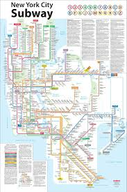 Brooklyn Metro Map by Download Subway Map New York City Manhattan Major Tourist