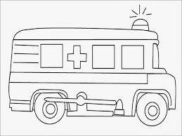 ambulance coloring pages getcoloringpages com
