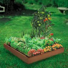 Raised Garden Bed With Bench Seating Greenland Gardener Garden Bed Kit Walmart Com