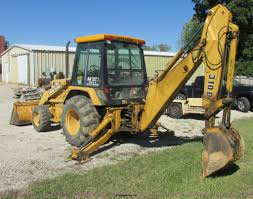 1992 john deere 310d backhoe item e7405 sold october 31