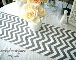Plastic Table Runners Zigzag Table Runner Etsy