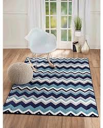 Modern Abstract Area Rugs Cyber Monday Special New Summit Elite S 66 Navy Blue Chevron