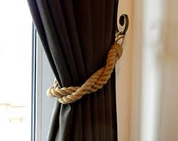 curtain tiebacks etsy