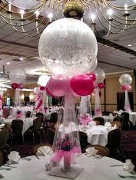 Elegant Balloon Centerpieces by Rosielloons Balloon Centerpieces Pinterest Centre Pieces