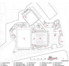 kindergarten floor plan layout gallery of tma blue theater contemporânea u0026 gonçalo afonso