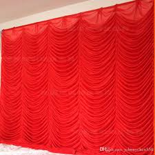 wedding backdrop drapes wholesale 3x3m white wedding backdrop curtain for wedding