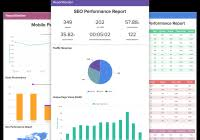 seo monthly report template monthly seo report template 2 professional and high quality