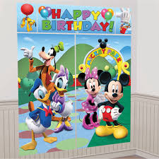 Home Decoration For Birthday by Mickey Mouse Decorations For Birthday Party Oaksenham Com