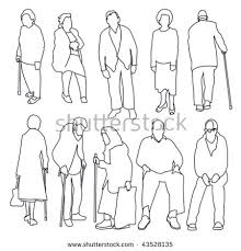 royalty free hand drawing people sketch collection u2026 446923861