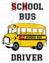 bus driver with cool and bus svg dxf png pes vip bmp