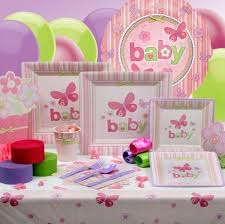 baby shower tableware baby shower plates and decorations baby shower decor baby girl