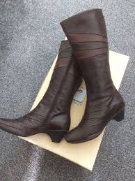 womens boots gumtree genuine leather freemood ella boots size 7 in