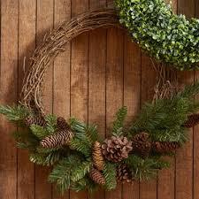large outdoor grapevine wreath wayfair