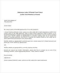 tenant letter template